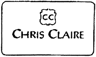 mark for CC CHRIS CLAIRE, trademark #79110749
