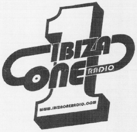 mark for 1 IBIZA ONE RADIO WWW.IBIZAONERADIO.COM, trademark #79111211