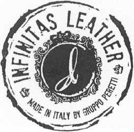 mark for INFINITAS LEATHER MADE IN ITALY BY GRUPPO PERETTI, trademark #79111247