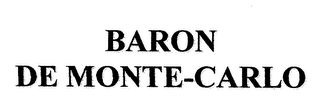 mark for BARON DE MONTE-CARLO, trademark #79111303