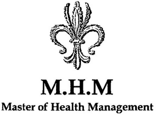 mark for M.H.M MASTER OF HEALTH MANAGEMENT, trademark #79111747