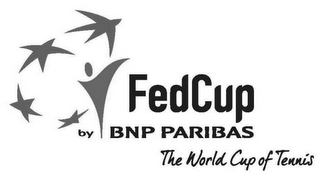 mark for FEDCUP BY BNP PARIBAS THE WORLD CUP OF TENNIS, trademark #79111832