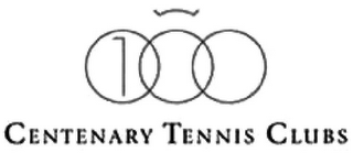 mark for CENTENARY TENNIS CLUBS, trademark #79112809