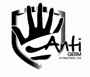 mark for ANTIGERM ANTIBACTERIAL LINE, trademark #79112945