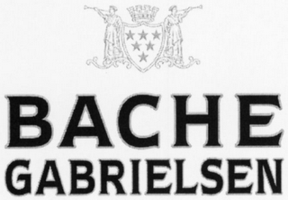 mark for BACHE GABRIELSEN, trademark #79113616