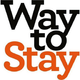 mark for WAY TO STAY, trademark #79114038