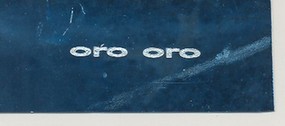 mark for ORO ORO, trademark #79114050