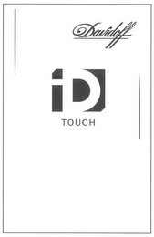 mark for DAVIDOFF ID TOUCH, trademark #79114421
