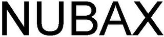 mark for NUBAX, trademark #79115533