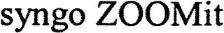 mark for SYNGO ZOOMIT, trademark #79116138