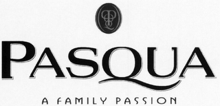 mark for PASQUA A FAMILY PASSION, trademark #79116815