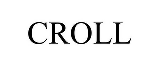 mark for CROLL, trademark #79116887