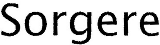 mark for SORGERE, trademark #79116903