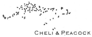mark for CHELI & PEACOCK, trademark #79116954