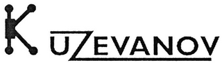 mark for KUZEVANOV, trademark #79118036