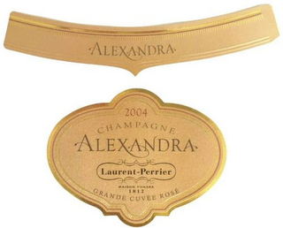 mark for CHAMPAGNE ALEXANDRA GRANDE CUVÉE ROSÉ LAURENT-PERRIER 1812, trademark #79118373