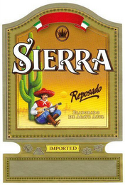 mark for SIERRA REPOSADO, trademark #79118388