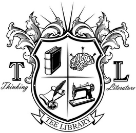 mark for TL THINKING LITERATURE TEE LIBRARY, trademark #79118508