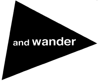 mark for AND WANDER, trademark #79118856