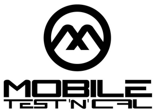 mark for M MOBILE TEST 'N' CAL, trademark #79118914