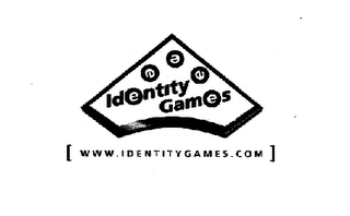 mark for IDENTITY GAMES [WWW.IDENTITY GAMES.COM], trademark #79118963