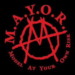 mark for M.A.Y.O.R. MODEL AT YOUR OWN RISK, trademark #79119070