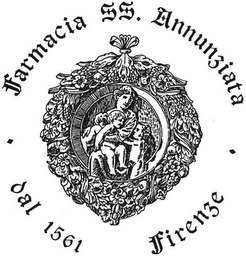 mark for FARMACIA SS. ANNUNZIATA DAL 1561 FIRENZE, trademark #79119517