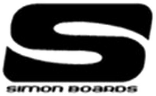 mark for S SIMON BOARDS, trademark #79120513