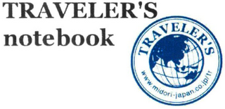 mark for TRAVELER'S NOTEBOOK TRAVELER'S WWW.MIDORI-JAPAN.CO.JP/TR, trademark #79120570