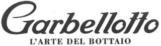 mark for GARBELLOTTO L'ARTE DEL BOTTAIO, trademark #79121155