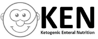 mark for KEN KETOGENIC ENTERAL NUTRITION, trademark #79122632