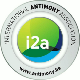 mark for I2A INTERNATIONAL ANTIMONY ASSOCIATION WWW.ANTIMONY.BE, trademark #79124882