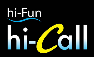 mark for HI-FUN HI-CALL, trademark #79125633