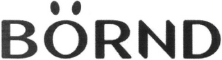 mark for BÖRND, trademark #79126066