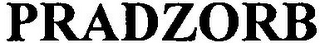 mark for PRADZORB, trademark #79130395