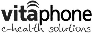 mark for VITAPHONE E-HEALTH SOLUTIONS, trademark #79149242