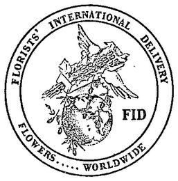 mark for FLORISTS' INTERNATIONAL DELIVERY (PLUS OTHER NOTATIONS), trademark #81003532