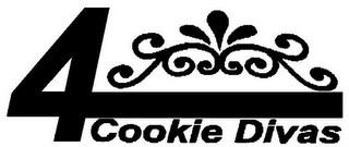 mark for 4 COOKIE DIVAS, trademark #85000614