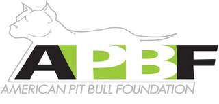 mark for APBF AMERICAN PIT BULL FOUNDATION, trademark #85000666
