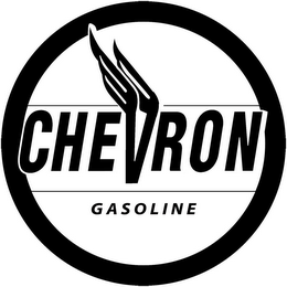 mark for CHEVRON GASOLINE, trademark #85001279