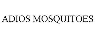 mark for ADIOS MOSQUITOES, trademark #85001522