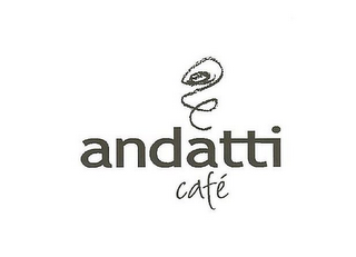 mark for ANDATTI CAFÉ, trademark #85001535