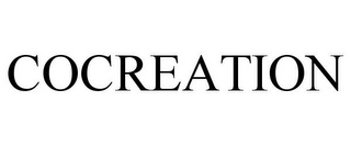 mark for COCREATION, trademark #85002255