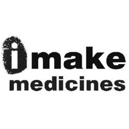 mark for I MAKE MEDICINES, trademark #85004313