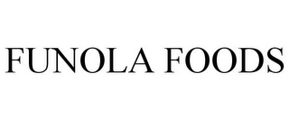 mark for FUNOLA FOODS, trademark #85004368