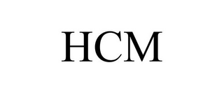 mark for HCM, trademark #85004424
