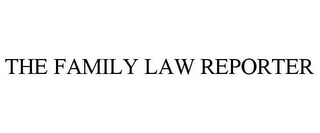 mark for THE FAMILY LAW REPORTER, trademark #85004509