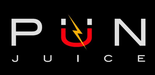 mark for PÜN JUICE, trademark #85005661