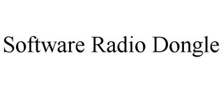 mark for SOFTWARE RADIO DONGLE, trademark #85005849