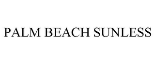 mark for PALM BEACH SUNLESS, trademark #85006453